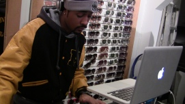 DJ kept it it flowing all night
